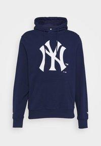 Fanatics - MLB NEW YORK YANKEES ICONIC SECONDARY COLOUR LOGO GRAPHIC HOODIE - Hoodie - navy - 4