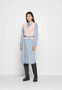 Soyaconcept - Shirt dress - powder blue - 1