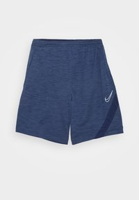 Nike Performance - DRY ACADEMY SHORT  - Sports shorts - blue void/white - 0