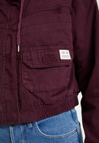 BDG Urban Outfitters - JARED UTILITY JACKET - Cowboyjakker - plum - 5