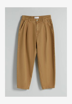 TAPERED - Relaxed fit jeans - brown