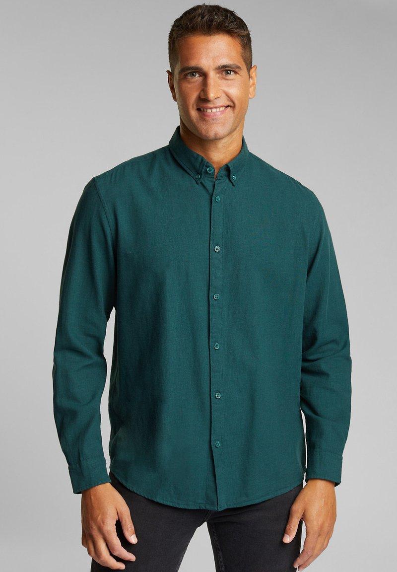 Esprit - Shirt - dark teal green