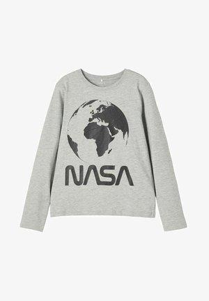 NASA  - Long sleeved top - grey melange