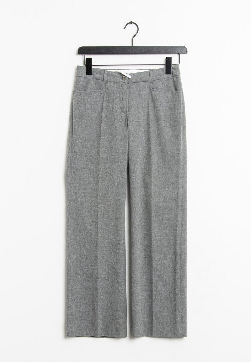 MADELEINE - Trousers - grey
