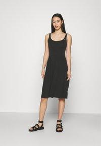 Ragwear - TRISHA - Jersey dress - black - 0