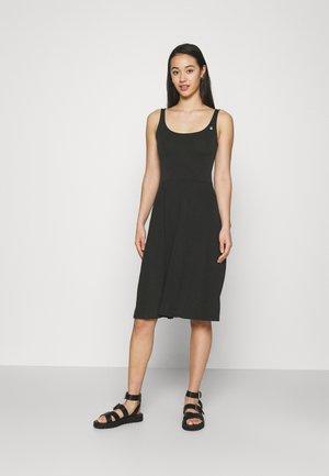 TRISHA - Jersey dress - black
