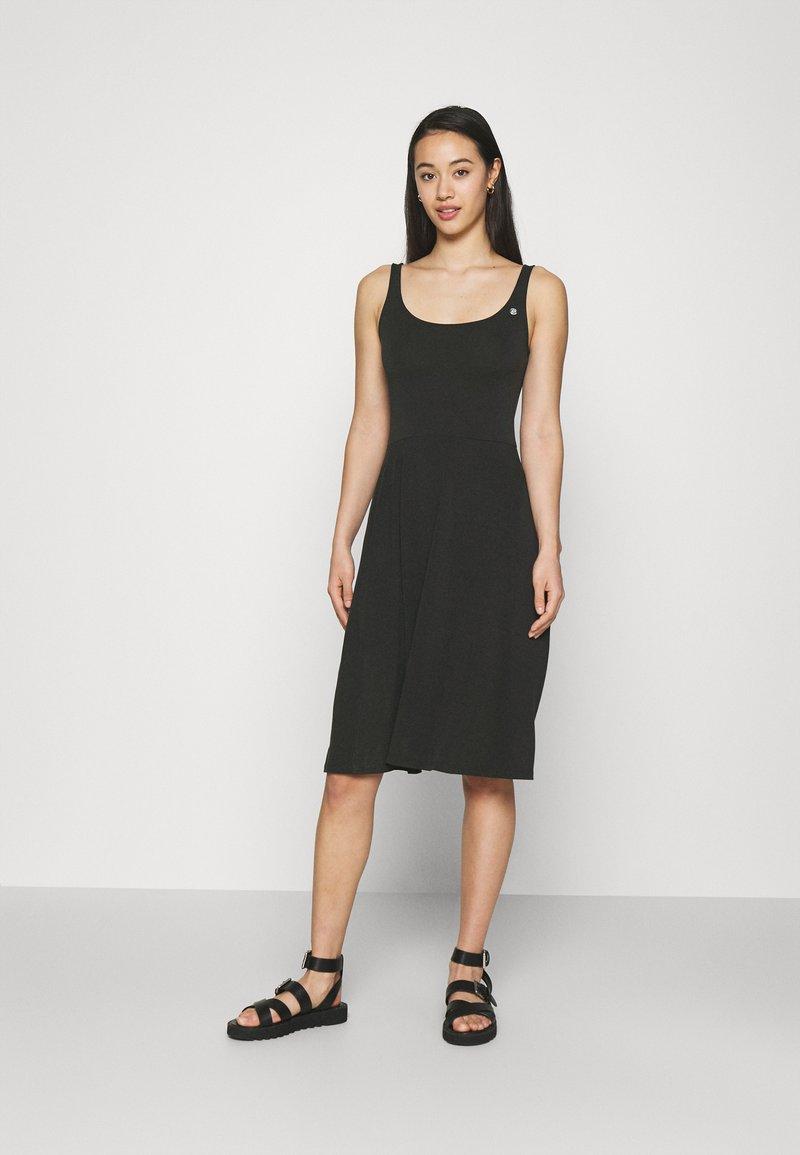 Ragwear - TRISHA - Jersey dress - black
