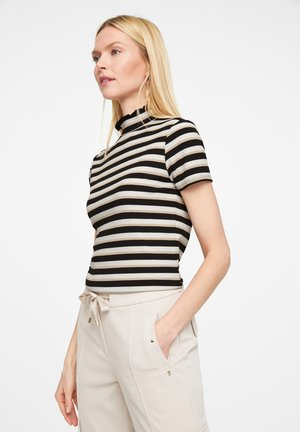Print T-shirt - black stripes