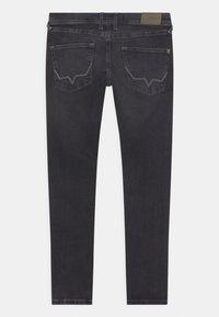 Pepe Jeans - FINLY - Jeans Skinny Fit - black denim - 1