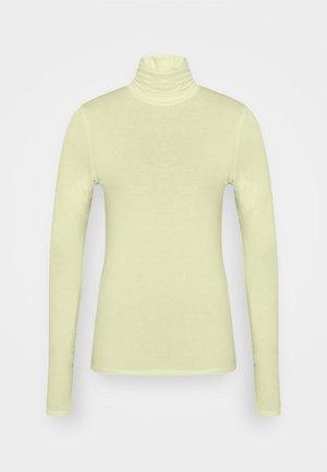 CHIE TURTLENECK - T-shirt à manches longues - sage green