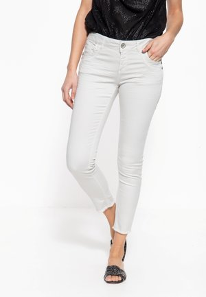 LEONI - Slim fit jeans - hellgrau