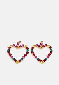 PCMILLE EARRINGS - Korvakorut - gold-coloured