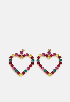 PCMILLE EARRINGS - Earrings - gold-coloured