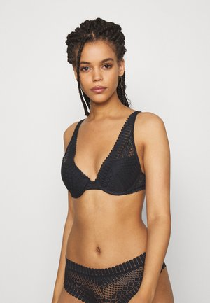 N°3 TRIANGLE - Reggiseno push-up - noir