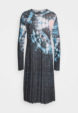 PRINTED DRESS  BATIK PATTERN - Neulemekko - dark grey