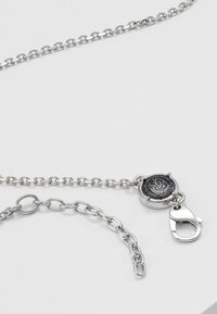 Diesel - DOUBLE PENDANT - Necklace - silver-coloured - 2