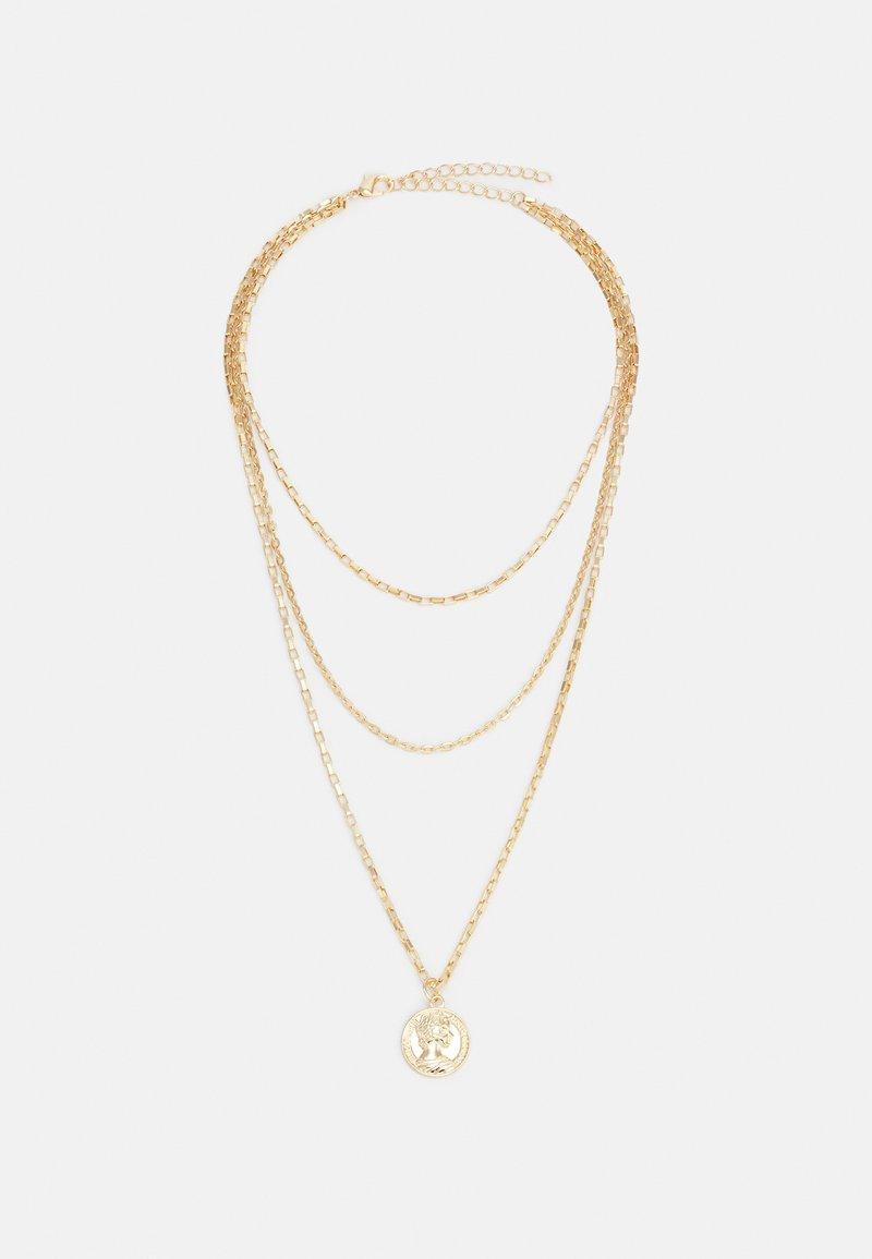 Urban Classics - LAYERING AMULET NECKLACE UNISEX - Smykke - gold-coloured