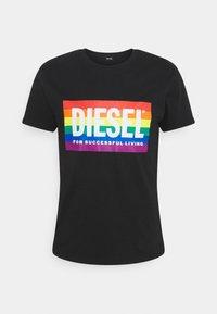 PRIDE BMOWT-DIEGO-P UNISEX - Print T-shirt - black