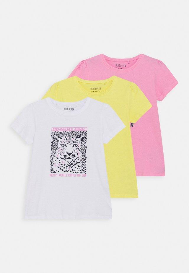 GIRLS KOALA TIGER 3 PACK - T-shirt med print - multi coloured