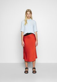 Another-Label - ARLEEN SKIRT - Pencil skirt - burned orange - 1
