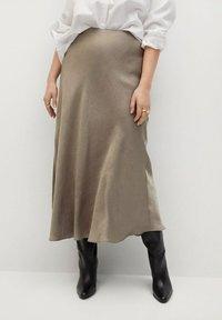 Violeta by Mango - Maxi skirt - copper - 0