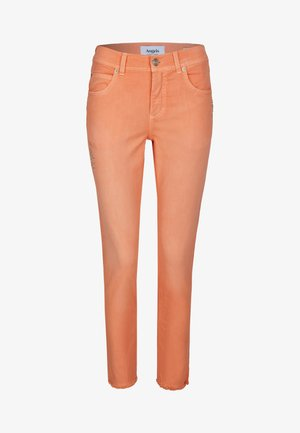 ORNELLA GLAMOUR - Slim fit jeans - orange