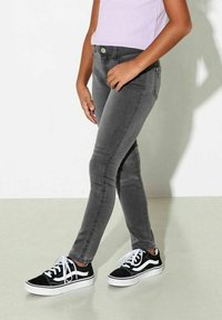 Kids ONLY - Slim fit jeans - dark grey denim - 2