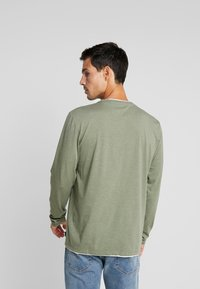 Esprit - Long sleeved top - khaki green - 2