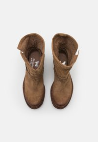 Felmini Wide Fit - GREDO - Cowboy/biker ankle boot - marvin stone - 5