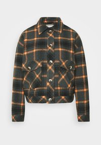 Pieces - PCSINO LS SHACKET - Summer jacket - black - 5