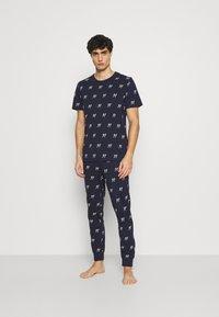 Jack & Jones - JACJASON SET - Pyjamas - maritime blue - 0