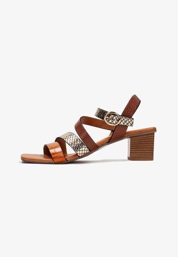 OLGA - Sandales - cuoio