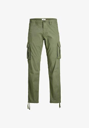 DRAKE ZACK - Pantaloni cargo - dusty olive