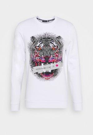 SAVAGE CREW - Sweatshirt - white