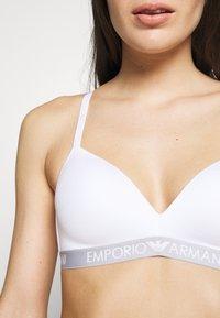 Emporio Armani - PADDED BRA - Triangle bra - bianco - 4