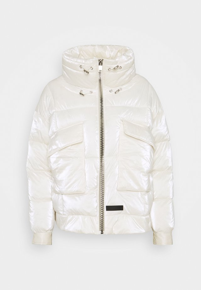 SHINY STYLISH  - Winter jacket - white