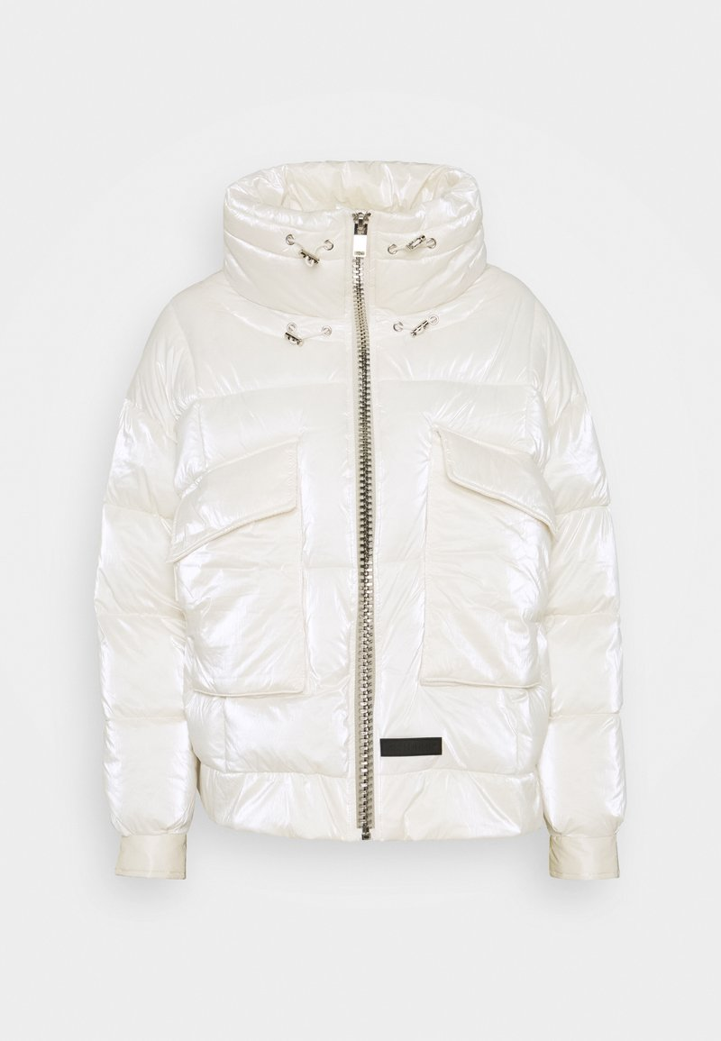 Sixth June - SHINY STYLISH  - Winter jacket - white