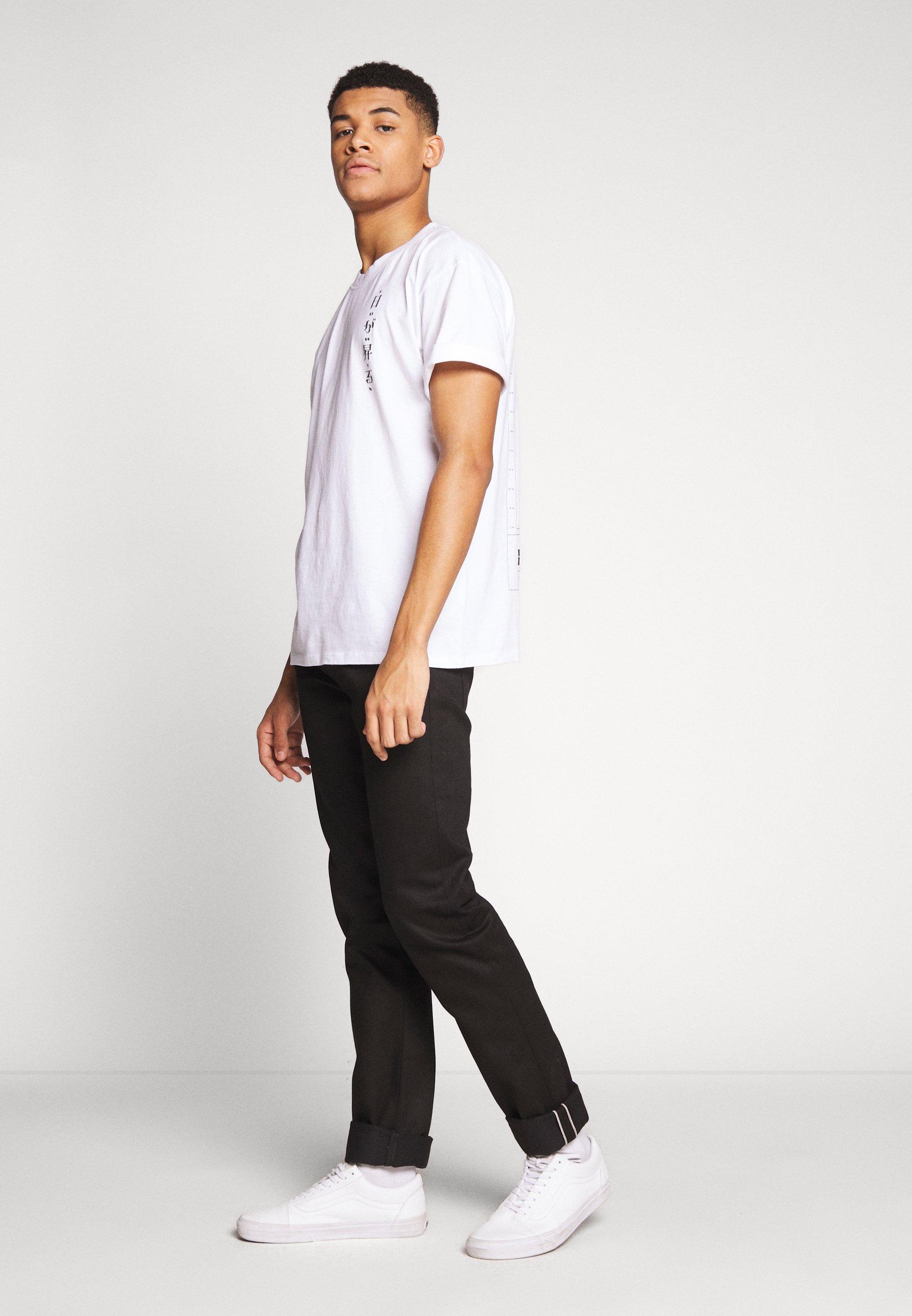 Edwin Jeans Tapered Fit - black denim