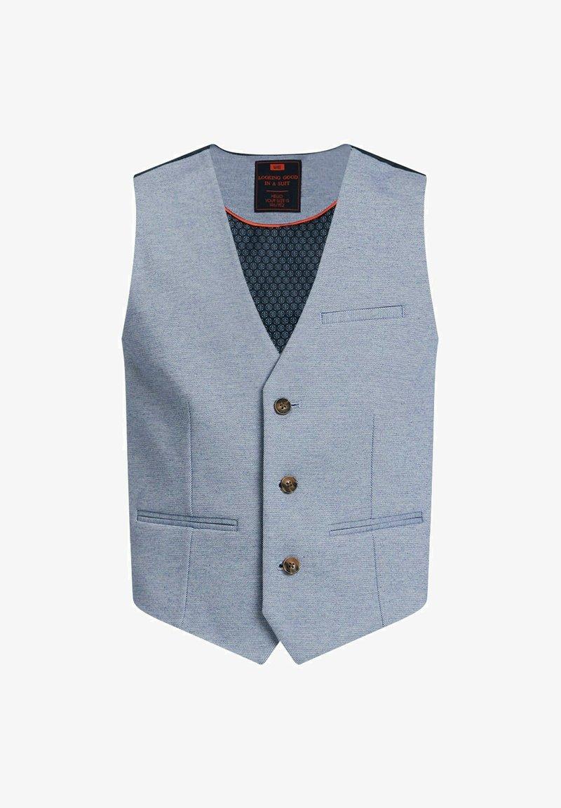 WE Fashion - Suit waistcoat - light blue