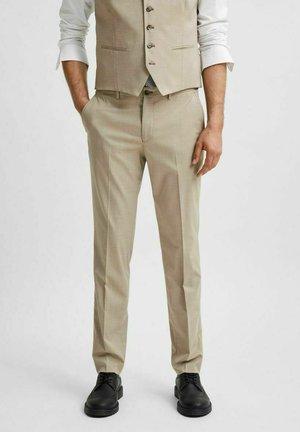 SLIM FIT - Pantaloni eleganti - sand