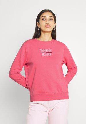 TERRY LOGO - Sweatshirt - botanical pink