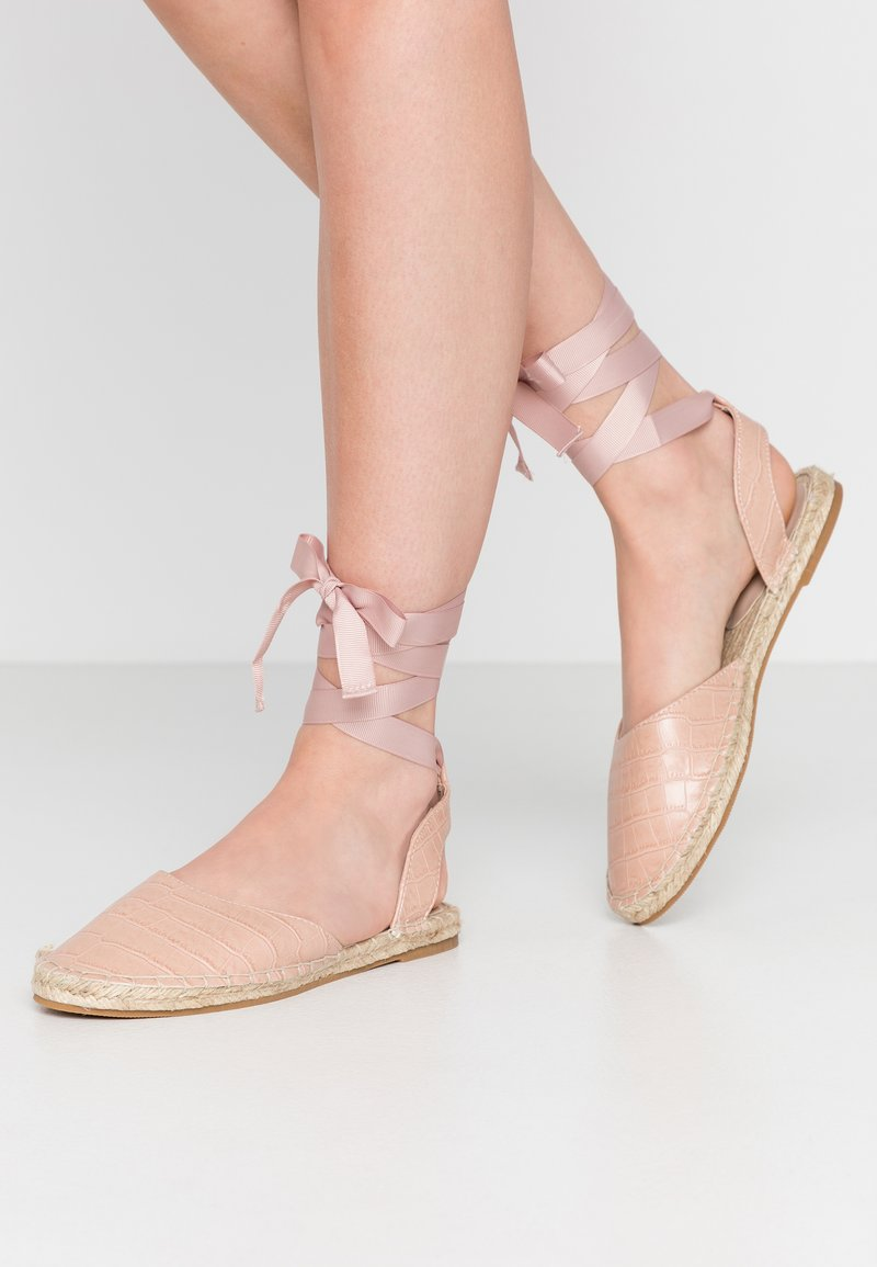 Miss Selfridge - LIBRA  - Loafers - nude