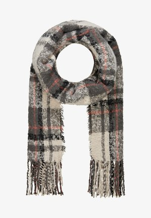 Scarf - mottled dark grey