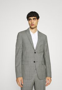 Calvin Klein Tailored - PRINCE OF WALES SUIT - Suit - grey - 0