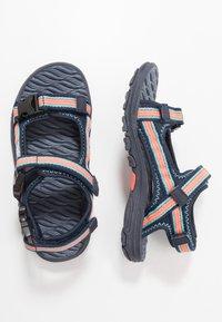 Kappa - RUSHEEN - Walking sandals - navy/coral - 0