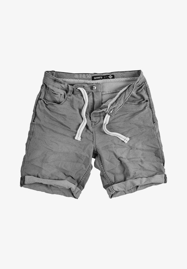 RIVFRED - Denim shorts - grey denim