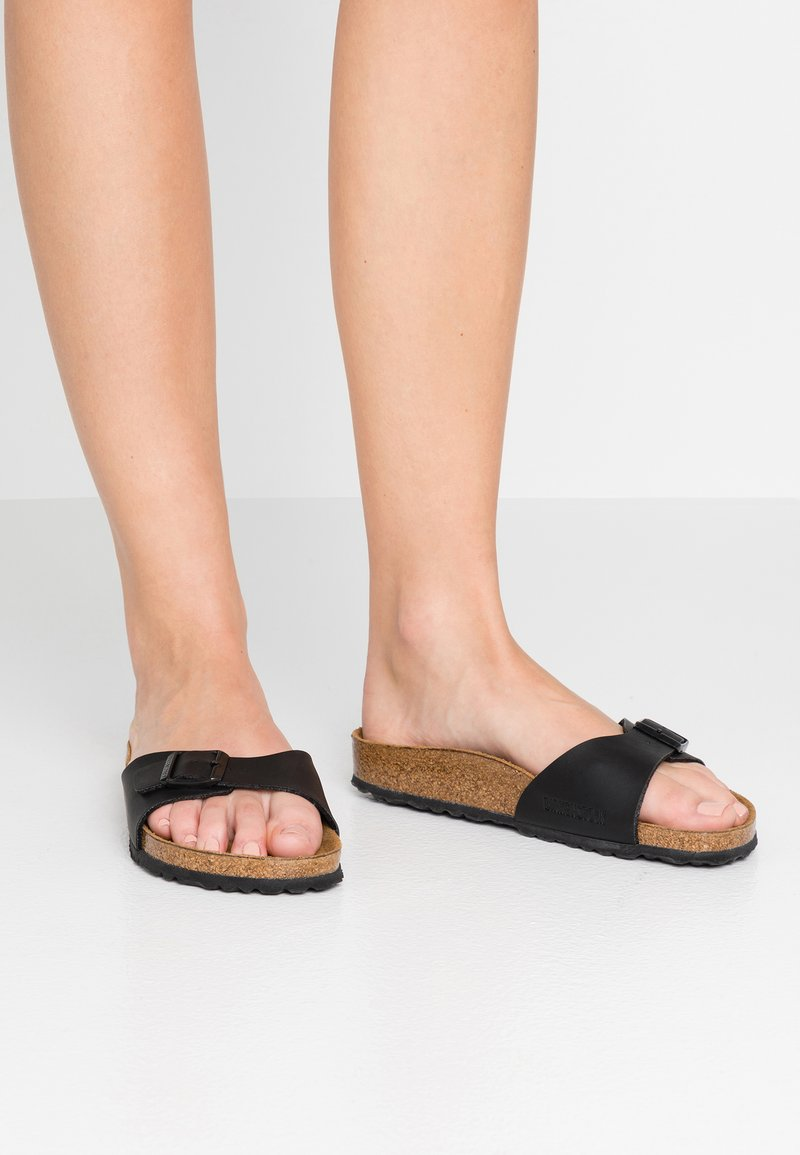 Birkenstock - Madrid - Slippers - black