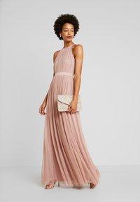 Anaya with love - DELICATE HALTER NECK WAISTBAND DRESS - Ballkjole - pearl blush - 2