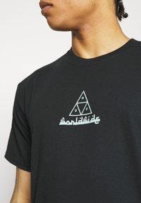 HUF - MOROCCAN TEE - Print T-shirt - black - 4