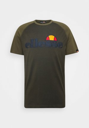 COPER - T-shirts print - khaki marl